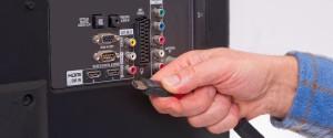 Как подключить телевизор к компьютеру через кабель HDMI на ОС Windows 10