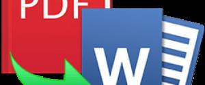 ТОП лучших онлайн конверторов из PDF в Word