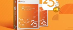 В честь 25-летия компания Paragon бесплатно дарит лицензию для полезного приложения Hard Disk Manager