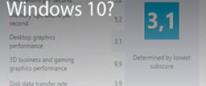 Как узнать индекс производительности компьютера в Windows 10