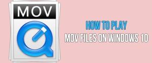 Топ-5 проигрывателей для MOV-файлов для системы Windows 10