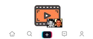 Как в ТикТоке вставить фото в видео, добавить картинку и сделать фуд-шоу