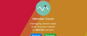 Описание bot Member Count для Discord, где можно скачать и как установить