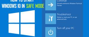 Как запустить Windows 10 в безопасном режиме при загрузке и войти в систему