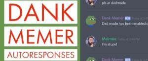 Описание и список команд бота для мемов Dank Memer в Дискорде, как установить