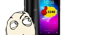 ZTE Blade L8: смартфон за 3240 рублей, который реально должен стоить дороже!