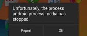 "Устраняем ошибку ""android.process.media"" на Андроид"