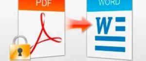 Как распознать текст из PDF в Word