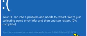 Как исправить ошибку thread stuck in device driver в Windows 10, 4 способа