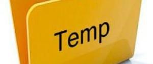 Папка TEMP на компьютере занимает много места – что делать?