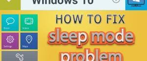 Что делать, если компьютер с ОС Windows 10 не уходит в спящий режим, 6 шагов
