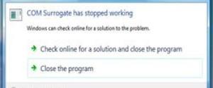 COM Surrogate: что это за процесс, почему грузит систему