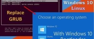 2 способа, как можно удалить Grub и восстановить загрузчик ОС Windows 10
