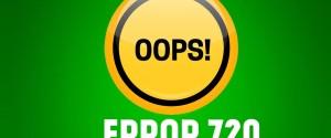 7 шагов по устранению ошибки 720 при подключении к интернету на ОС Windows 10