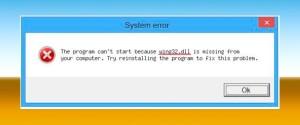 """""""Отсутствует wing32.dll"""" – как исправить ошибку в играх Windows 7 8 10"""