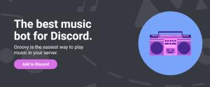 Как добавить музыкального Groovy bot в среду Discord, его команды и настройка