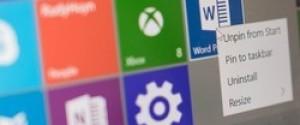 Удаляем лишние приложения Windows 10