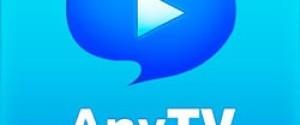 AnyTV Free просмотр видео с компа