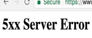 """Что за ошибка """"5xx server error"""" в Инстаграм – как исправить?"""