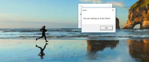 5 способов, как исправить ошибку set user settings to driver failed в Windows 10