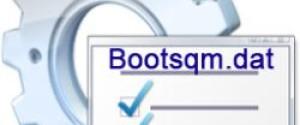 Что за файл bootsqm.dat, можно ли его удалять?