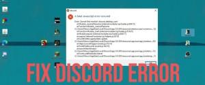 Причины ошибки Cannot find module desktop core и как ее исправить в Discord