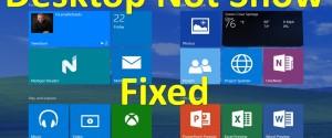Как вернуть пропавший Рабочий стол в ОС Windows 10 вместо плиток, 7 шагов