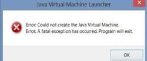 Исправляем ошибку Java Virtual Machine Launcher в играх