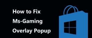 3 способа, как в системе Windows 10 исправить ошибку MS Gamingoverlay