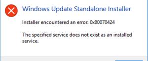 Как исправить ошибку 0x80070424 при обновлении Windows 10, 6 способов