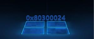 Ошибка с кодом 0x80300024 и 6 способов ее устранения при установке Windows 10
