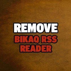 Удаляем вредоносное приложение BikaQ RSS Reader