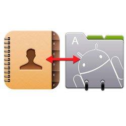 Как перекинуть контакты с Андроида на Андроид