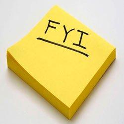 Что такое FYI — как расшифровывается «странное» обозначение