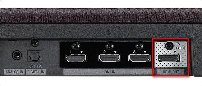 hdmi arc на задней панели телевизора