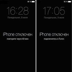 Исправляем ошибку «iPhone отключен, подключитесь к iTunes»