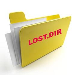 LOST.DIR — что за папка на Android, флешке, можно ли удалить?