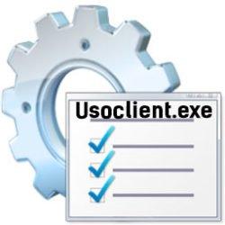 Usoclient.exe — что это за файл Windows 10 с «черным окном»