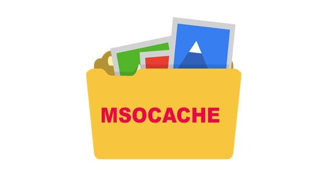 Особенности папки msocache