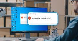 6 способов, как можно исправить ошибку с кодом 0x80070057 в ОС Windows 10
