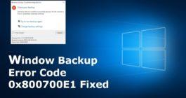 6 пошаговых способов, как можно исправить ошибку 0x800700e1 на ОС Windows 10