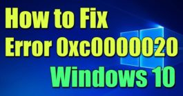 Причины появления ошибки 0xc0000020 и как ее исправить в ОС Windows 10
