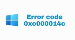 Как исправить ошибку с кодом 0xc000014c и убрать синий экран смерти Windows 10