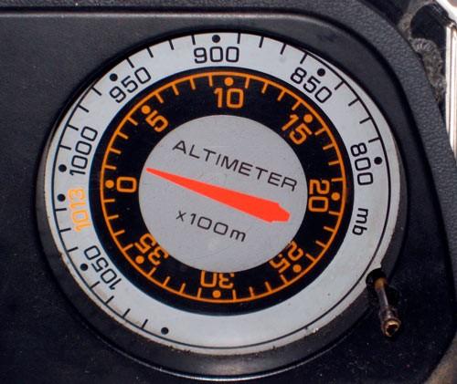 Альтиметр в самолете