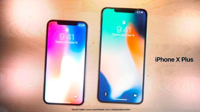 Разница в размерах Айфон X и X S Плюс