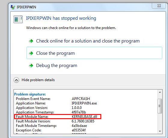 Скачать kernelbase. Dll windows 7 64.