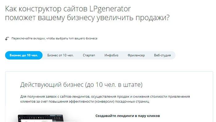 оптимальный выбор ЛПгенератор