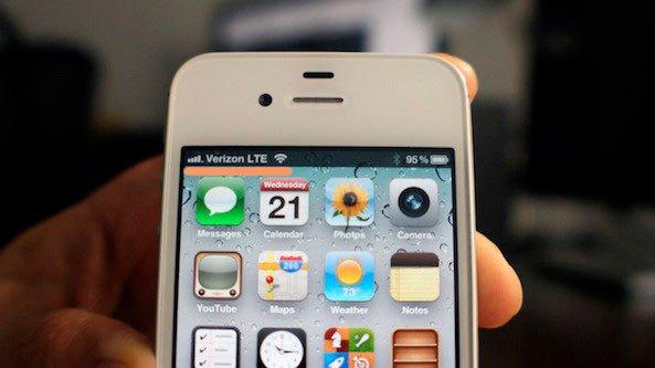 ЛТЕ на iPhone