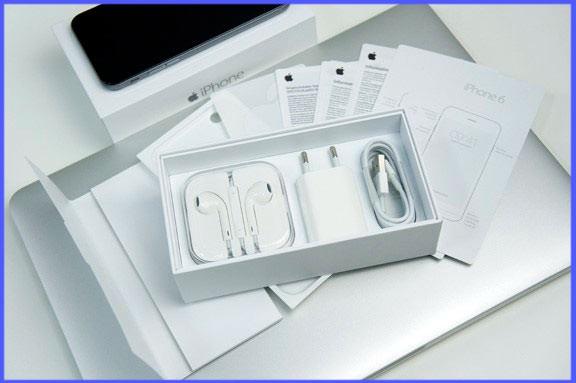 Комплект упаковки Айфона