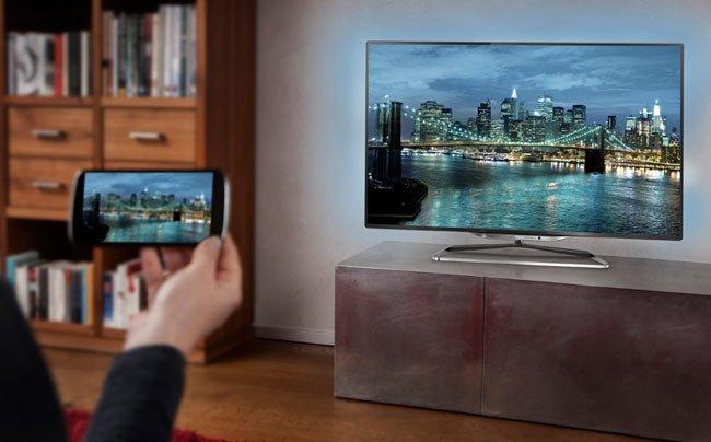 Телефон и телевизор